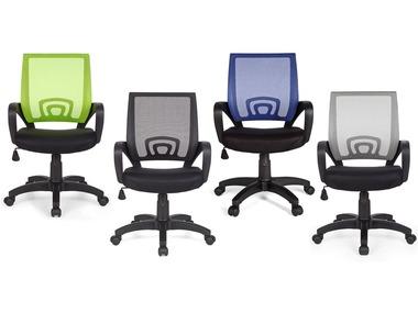 AMSTYLE Kancelářská židle Rivoli Stoff / Netz