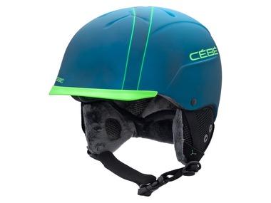 Cébé Lyžařská a snowboardová helma CONTEST VISOR PRO BLUE MOUNTAIN 17/18