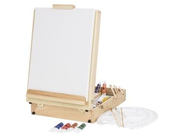 CRELANDO® Stolní malířský stojan v kufříku