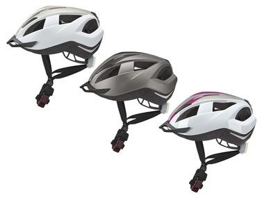 CRIVIT® Cyklistická helma Tail Light 2018