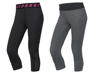 CRIVIT® Dámské funkční capri kalhoty