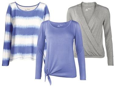 CRIVIT® Dámské wellness triko s dlouhými rukávy