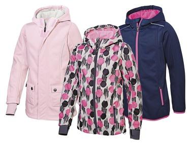 CRIVIT® Dívčí softshellová bunda