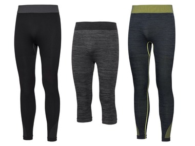 CRIVIT® Pánské funkční bezešvé spodní kalhoty