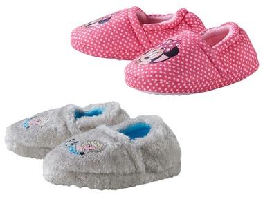 Dívčí domácí obuv