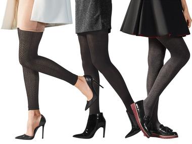 ESMARA® Dámské pletené punčochové kalhoty / legíny