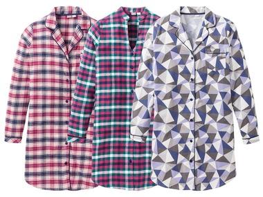 ESMARA®Lingerie Dámská flanelová noční košile