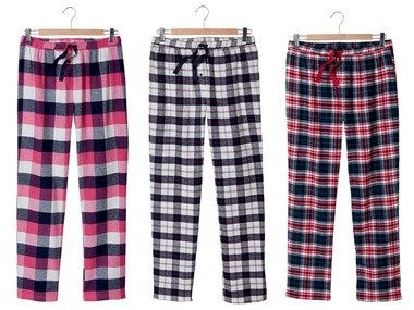 ESMARA®Lingerie Dámské flanelové kalhoty