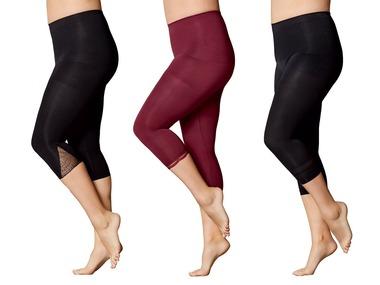 ESMARA®Lingerie Dámské tvarující capri kalhoty XXL