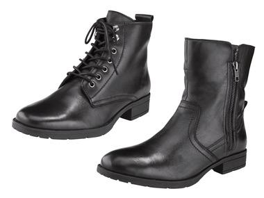 Footflexx Dámská kožená kotníková obuv