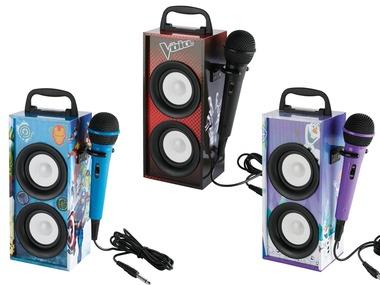LEXIBOOK Přenosný Karaoke set s mikrofonem BTP155TVZ