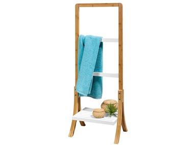 LIVARNOLIVING® Bambusový věšák na ručníky