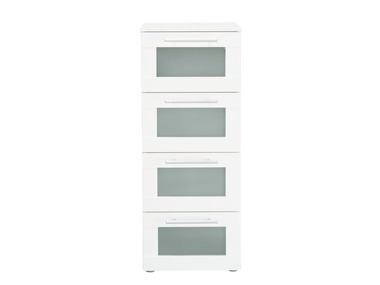 LIVARNOLIVING® Koupelnová komoda Matt klaas se 4 zásuvkami