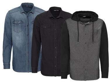 LIVERGY® Pánská džínová košile