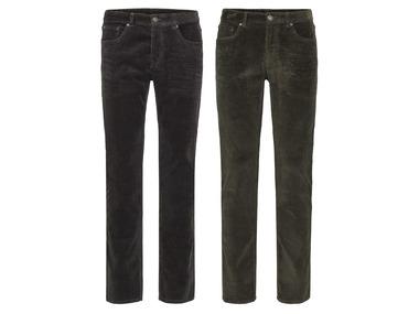 """LIVERGY® Pánské manšestrové kalhoty """"Slim Fit"""""""