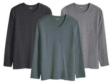 LIVERGY® Pánské triko s dlouhými rukávy
