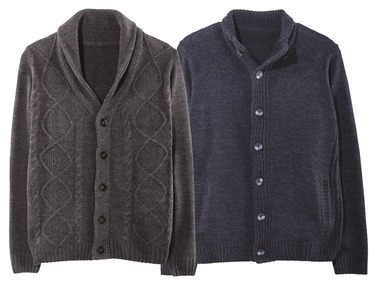 LIVERGY® Pánský svetr z hrubého úpletu