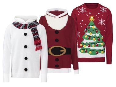 LIVERGY® Pánský vánoční svetr