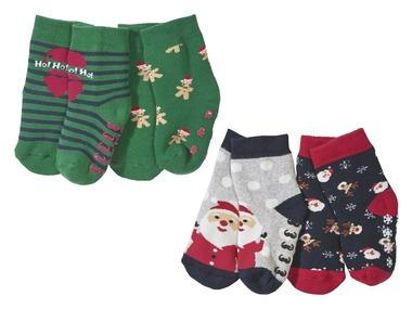 LUPILU® Chlapecké plyšové ponožky