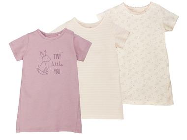 LUPILU® Dívčí šaty s krátkými rukávy