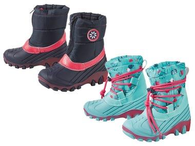 LUPILU® Dívčí blikající zimní boty