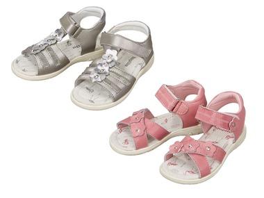 LUPILU® Dívčí kožené sandály