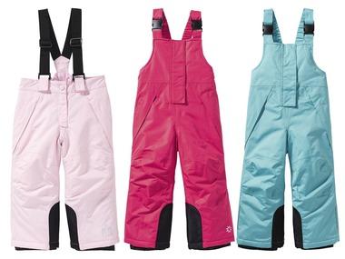 LUPILU® Dívčí lyžařské kalhoty