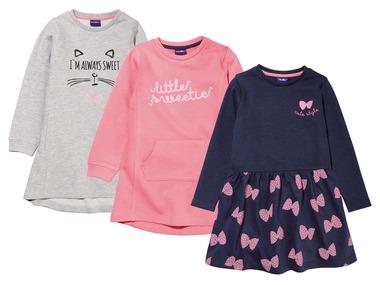 LUPILU® Dívčí mikinové šaty