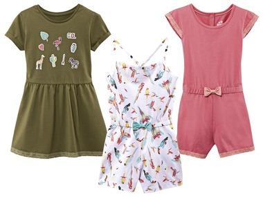 LUPILU® Dívčí overal/šaty