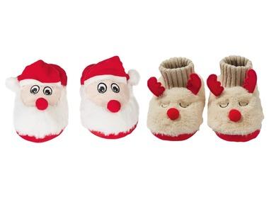 LUPILU® Dětská vánoční domácí obuv