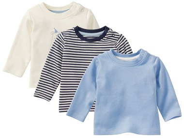 LUPILU® PURE COLLECTION Chlapecké triko s dlouhými rukávy