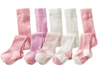 LUPILU® PURE COLLECTION Dívčí punčochové kalhoty