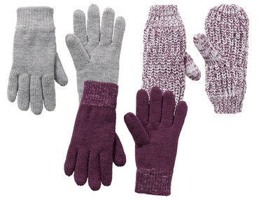 PEPPERTS® Dívčí pletené termo rukavice