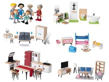 PLAYTIVE®JUNIOR Dřevěný nábytek / Sada panenek