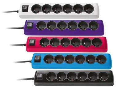 POWERFIX® Zásuvková lišta se 6 zásuvkami