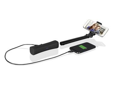 SILVERCREST® Bluetooth® Selfie tyč s powerbankou SSP 2600 A1