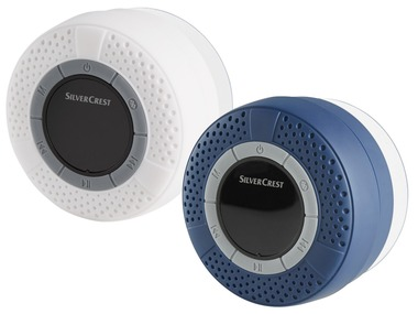 SILVERCREST® Bluetooth® reproduktor do koupelny