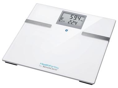 SILVERCREST® Diagnostická váha s Bluetooth® SBF 75