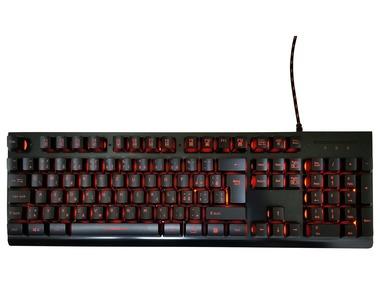 SILVERCREST® Herní podsvícená klávesnice