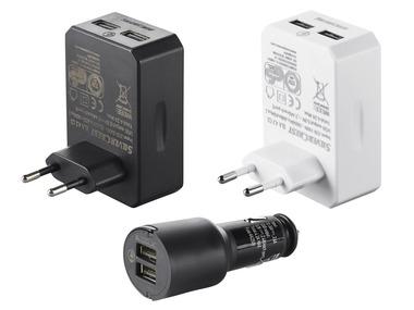 SILVERCREST® USB nabíječka
