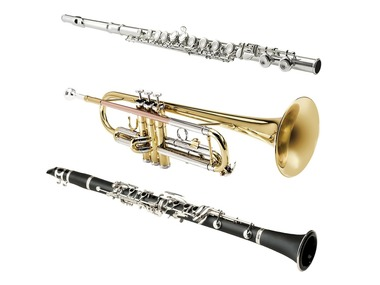 Sheffield Klarinet / Příčná flétna / Trumpeta