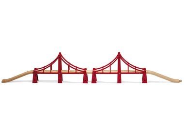 BRIO Dvojitý visutý most 33683