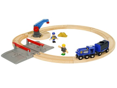 BRIO World Vláčkodráha s policejním vlakem 33812