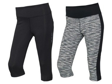 CRIVIT® Dámské funkční capri kalhoty XXL