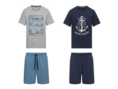 LIVERGY® Pánské letní pyžamo XXL