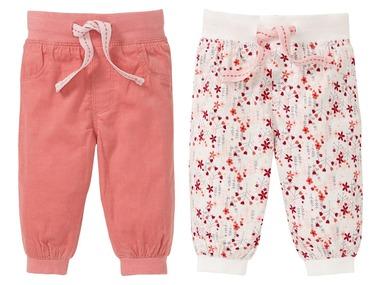LUPILU® Dívčí manšestrové kalhoty BIO