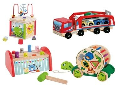 PLAYTIVE®JUNIOR Dřevěná výuková hračka