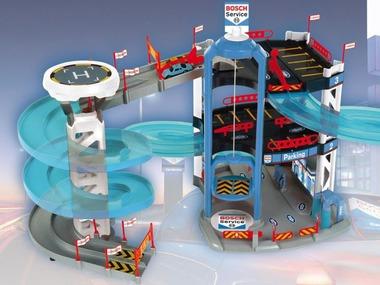 TheoKlein Parkovací dům Bosch se 3 podlažími a závodní věží