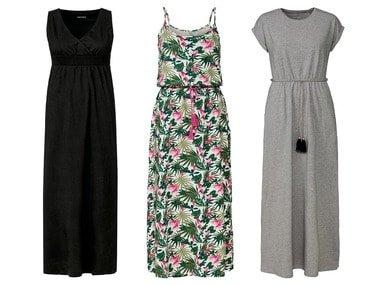 ESMARA® Dámské maxi šaty XXL