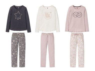 ESMARA®Lingerie Dámské pyžamo BIO C2C